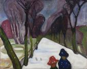 Schirn_Presse_Munch_New_Snow_in_the_Avenue_1906